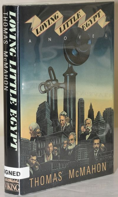 New York: Viking Press, 1987. First Edition. Hard Cover. Very Good binding/Very Good+ dust jacket. I...
