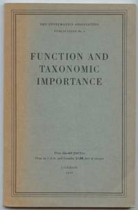 Function and Taxonomic Importance