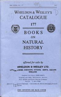 Catalogue 177/1987: Books on Natural History