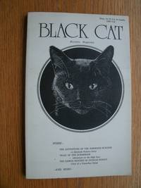 image of Black Cat Mystery Magazine Issue No. 1