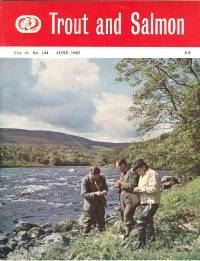 TROUT AND SALMON MAGAZINE; Jan. to June. 1967, 6 Issues