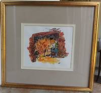 ORIGINAL SIGNED WATERCOLOUR ARTWORK. by  Quentin.: BLAKE - Signed - from Roger Middleton (SKU: 32051)