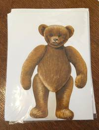 TEDDY BEAR PAPER DOLL. With five outfits