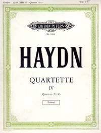 [String] Quartette IV - Quartets ## 51-83 [COMPLETE SET of PARTS] by Haydn, Franz Joseph