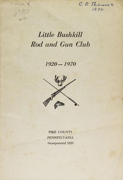 [N.p., Philadelphia, 1970. 15 pp. 1 vols. 8vo. Printed self wrappers. Minor soiling, ownership signa...