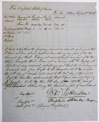 PAY VOUCHER OF GEORGE PATTERSON, CHAPLAIN OF THE CONFEDERATE 3D NORTH CAROLINA INFANTRY, 1 JUNE 1863