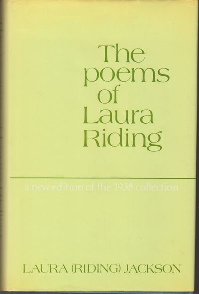 New York: Persea Books. 1980. First US Edition; First Printing. Hardcover. A fine copy in near fine ...