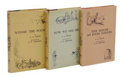 London: Methuen and Co, 1926. First Edition. Fine/Near Fine. 1926, 1927, 1928. Three volumes, all fi...