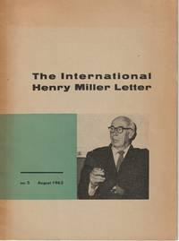 The International Henry Miller Letter, No. 5, August 1963