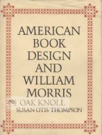 image of AMERICAN BOOK DESIGN AND WILLIAM MORRIS