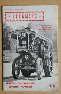 Steaming. January 1960. The Journal of the National Traction Engine Club.