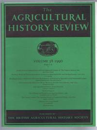 The Agricultural History Review, Volume 38 1990 Part II