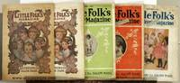 Little Folks Magazine. FIVE ISSUES FROM 1913