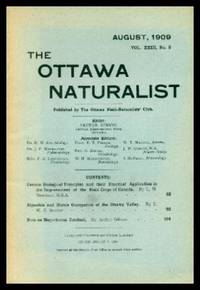 THE OTTAWA NATURALIST - Volume 23, number 5 - August 1909