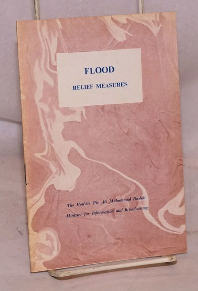 Karachi: Department of Advertising, Films and Publications, 1955. 10p., wraps. OCLC lists two copies...