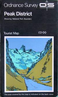 1:63,360 Tourist Map, Peak District (Derbyshire) by Ordnance Survey - 1:63,360 sheeet - 1980 - from Acanthophyllum Books and Biblio.com