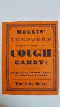 Hollis' Compound Boneset and Wild Cherry Cough Candy