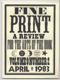 image of Fine Print: Volume 9, Number 2, April, 1983
