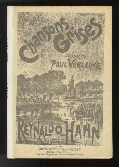 Paris: Heugel & Cie , 1956. Octavo. Library binding with original publisher's wrappers with lithogra...