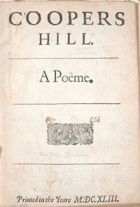 Coopers Hill A Poem
