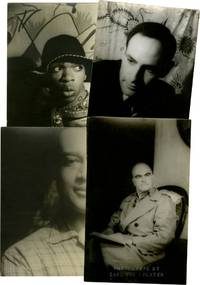 Collection of 16 portrait photographs, including authors, Harlem Renaissance figures, actors, artists, and architects