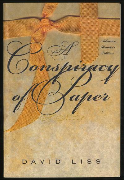 New York: Random House, 2000. Softcover. Near Fine. Advance Reader's edition. First edition. Near fi...