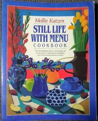 image of Still Life with Menu Cookbook