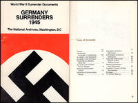 World War II Surrenders Documents: Germany Surrenders 1945 and Japan Surrenders 1945 (Two booklets)