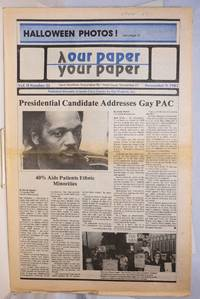 image of Our Paper, Your Paper; the gay family paper of the Santa Clara Valley; vol. 2, #22, November 9, 1983
