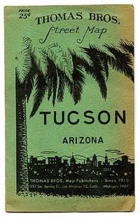 Thomas Bros. Street Map Tucson Arizona