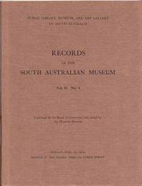 Records of the South Australian Museum Volume II No 4 [1924]