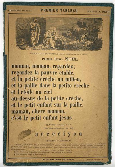Abécédaire Français.