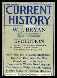 CURRENT HISTORY - Volume 22, number 6 - September 1925