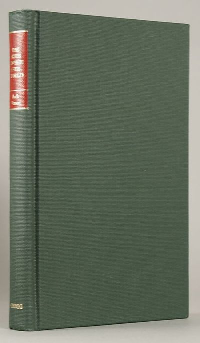 Boston: Gregg Press, 1977. Octavo, cloth. First hardcover edition, first printing. Text offset from ...
