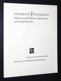 Studies in Type Design: Alphabets with Random Quotations