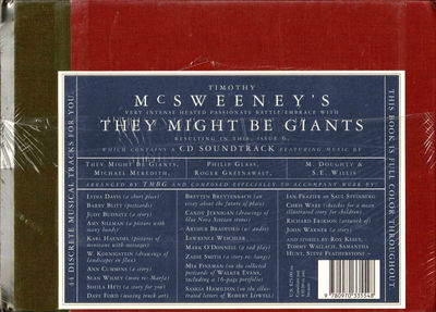 Brooklyn: McSweeney's, 2001. Hardcover. Very good. As new in publisher's shrinkwrap.