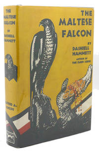 THE MALTESE FALCON by Dashiell Hammett - First Edition Thus; First Printing - from Rare Book Cellar (SKU: 136530)