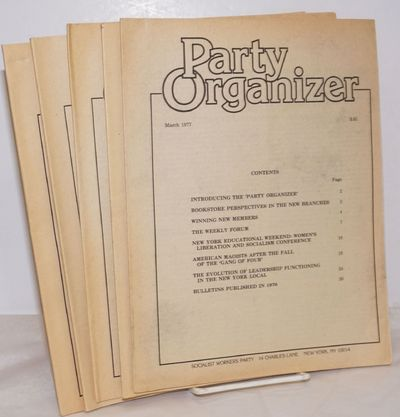 New York: Socialist Workers Party, 1977. Five issues, a complete run for the year, all wraps, 8.5x11...
