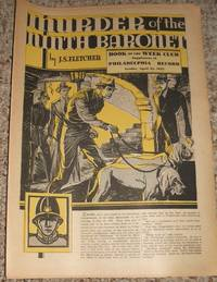 image of Murder of the Ninth Baronet  Supplement of The Philadelphia Record for April 22nd 1933