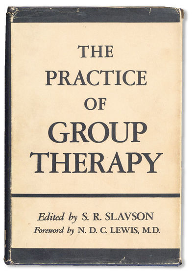 New York: International Universities Press, . First Edition. Octavo (23.5cm.); publisher's cloth in ...
