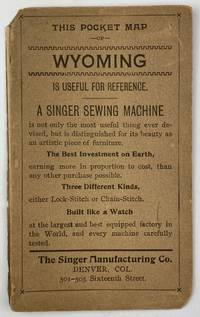 This Pocket Map of Wyoming Is Useful for Reference [cover title]
