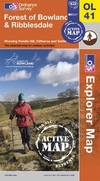image of Forest of Bowland & Ribblesdale (OS Explorer Map Active)