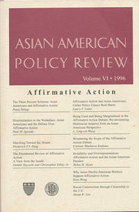 Asian American Policy Review (Volume VI, 1996)