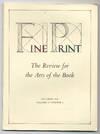 Fine Print: Volume 11, Number 4, October, 1985