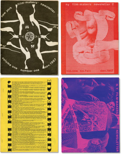 New York: Filmmakers Newsletter / Filmmakers' Cinematheque, 1971. Archive of 41 issues of