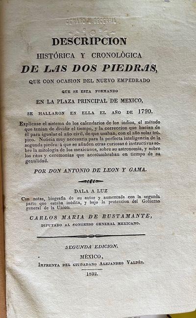 DESCRIPCION HISTORICA Y CRONOLOGICA...