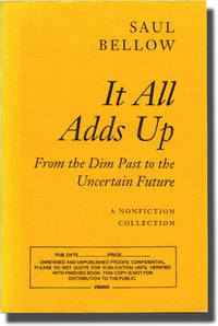 image of It All Adds Up: From the Dim Past to the Uncertain Future