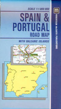 Road Map Of Portugal And Spain.Travel Spain Portugal From Books Online Plus Browse Recent