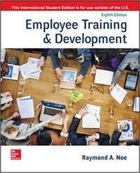 image of Employee Training_Development (8th International Edition)