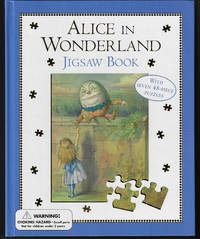 Alice in Wonderland Jigsaw Book (Unused)